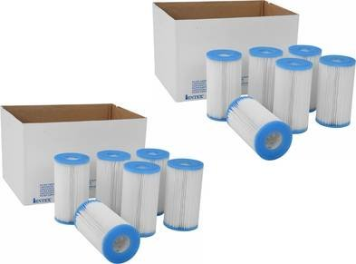 12 Intex Replacement Filter Cartridge A 2 Cases Pool